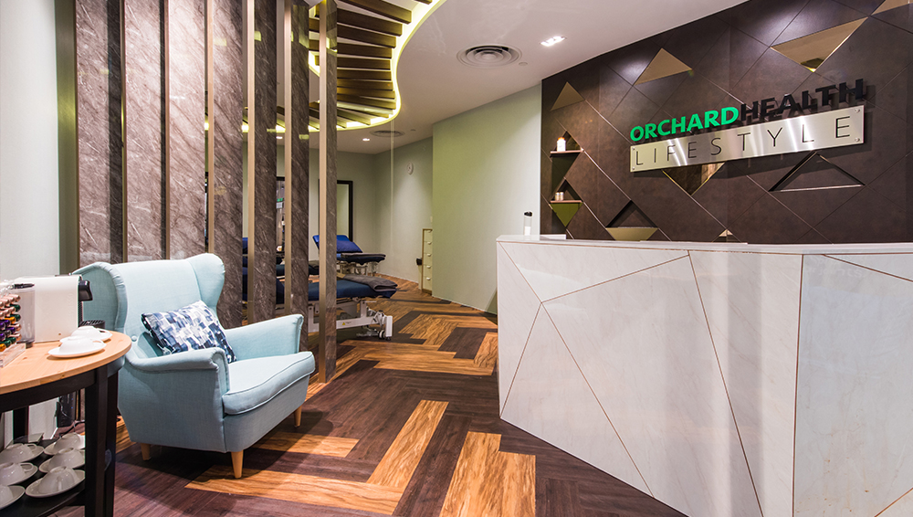 Orchard Health Lifestyle at Tangs Singapore Designed by Department of Design