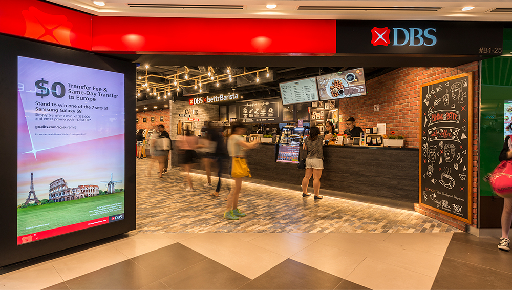 De Exclusive Interior Group Sparks the Interest of Millennials at DBS Bank